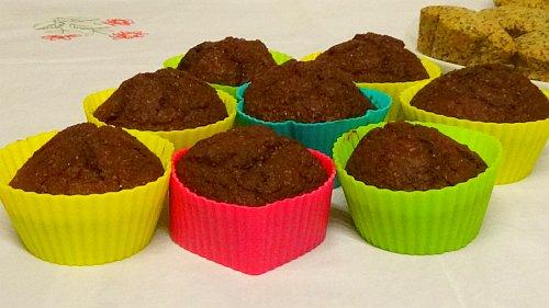 Vegane Muffins - Schoko Muffin Rezept