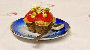 Vegane Muffins - herzhafter Appetithappen