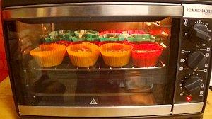 Vegane Muffins im Miniofen Rommelsbacher