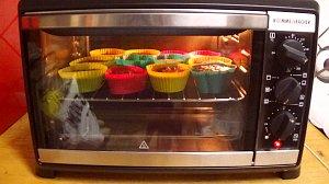 Vegane Muffins im Miniofen von Rommelsbacher