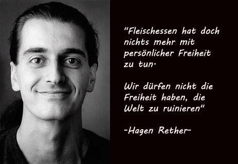 Warum vegan - Rether