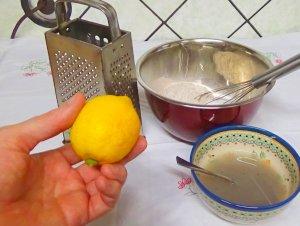 Vegane Muffins - Zitronenschale