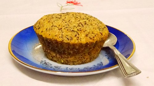 zum Kaffee vegane Muffins mit Mohn